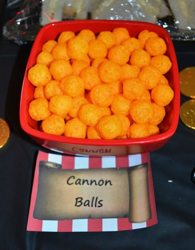 Ideas for pirate party food