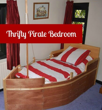 Thrifty Pirate Bedroom