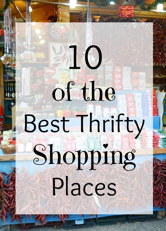 10 of the best thrifty shopping places