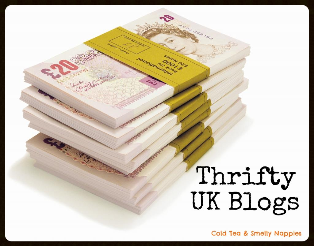 A list of thrifty UK blogs