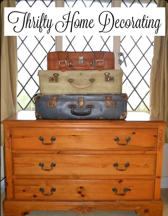 thrifty home decorating
