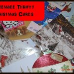 Thrifty Thursday – Thrifty Homemade Christmas Cards