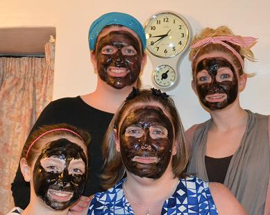 Face masks girly night