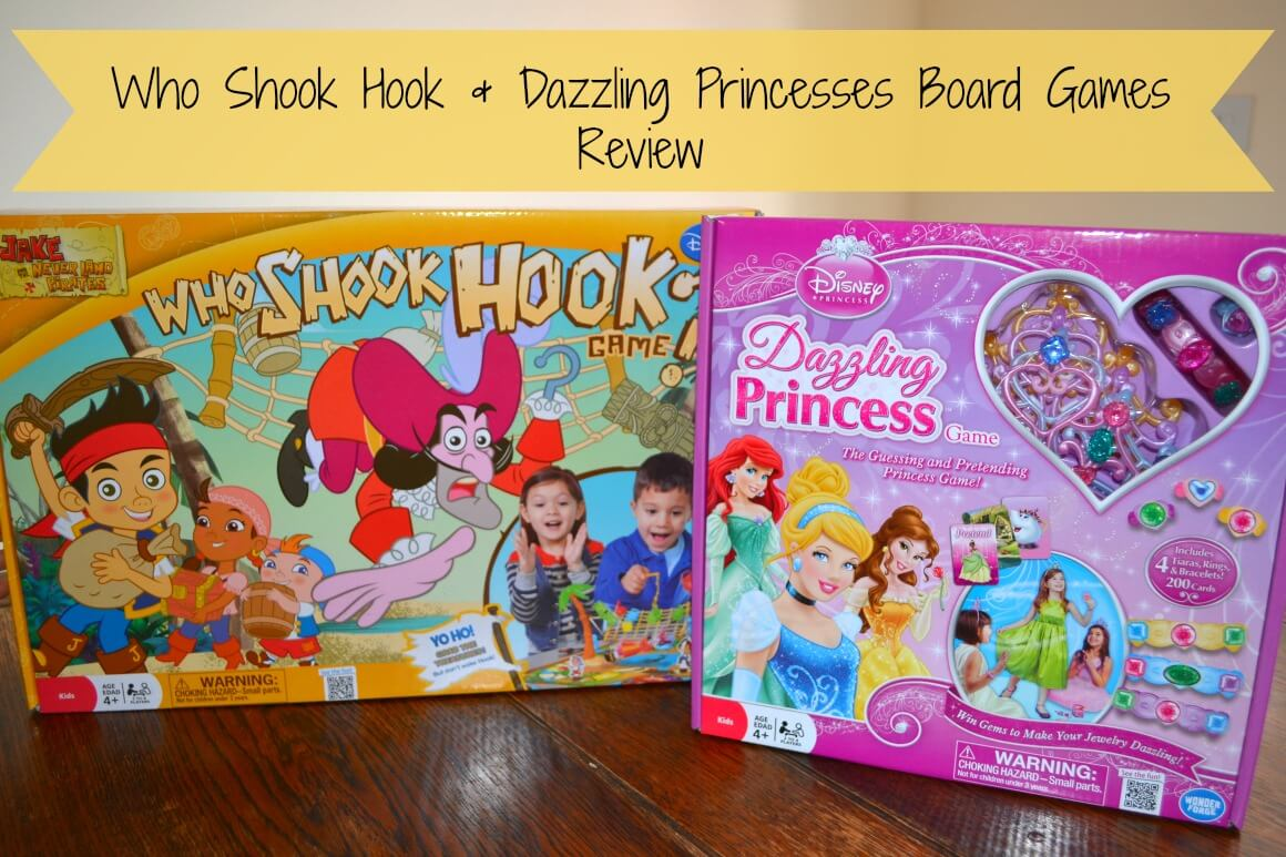 Board Games Review - How Shook Hook & Dazzling Princess