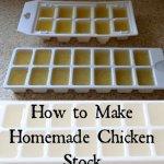 Thrifty Thursday – Homemade Chicken Stock
