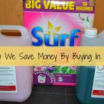 Thrifty Thursday – How We Save Money By Buying In Bulk