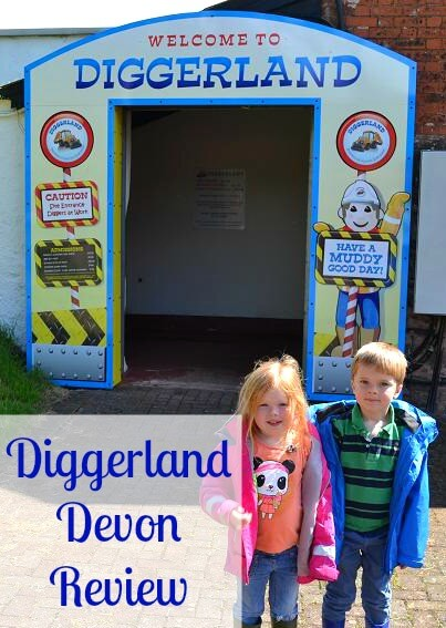 Diggerland in Devon review