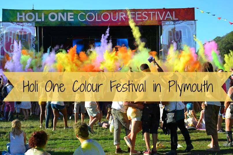 Holi One Colour Festival in Plymouth