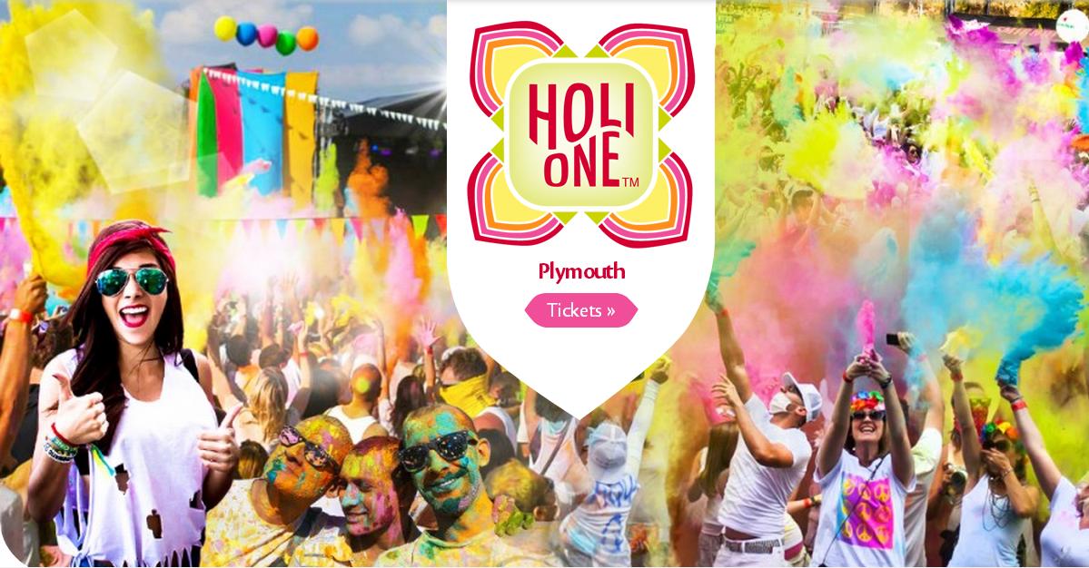 Holi One colour festival