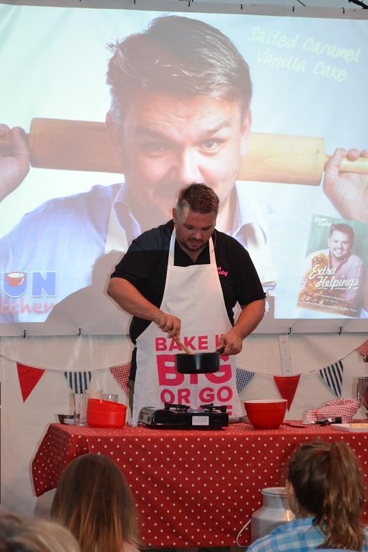 Glen Cosby Big Devon Bake Off