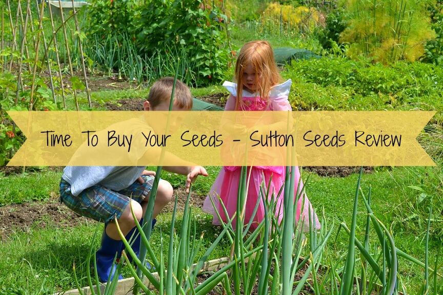 Time to buy your seeds with Sutton Seeds