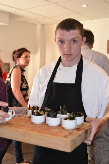 Teign Valley Curled Mussels