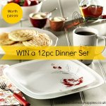 Win a Corelle 12pc Dinner Set