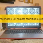 10 Free Places To Promote Your Blog Giveaway