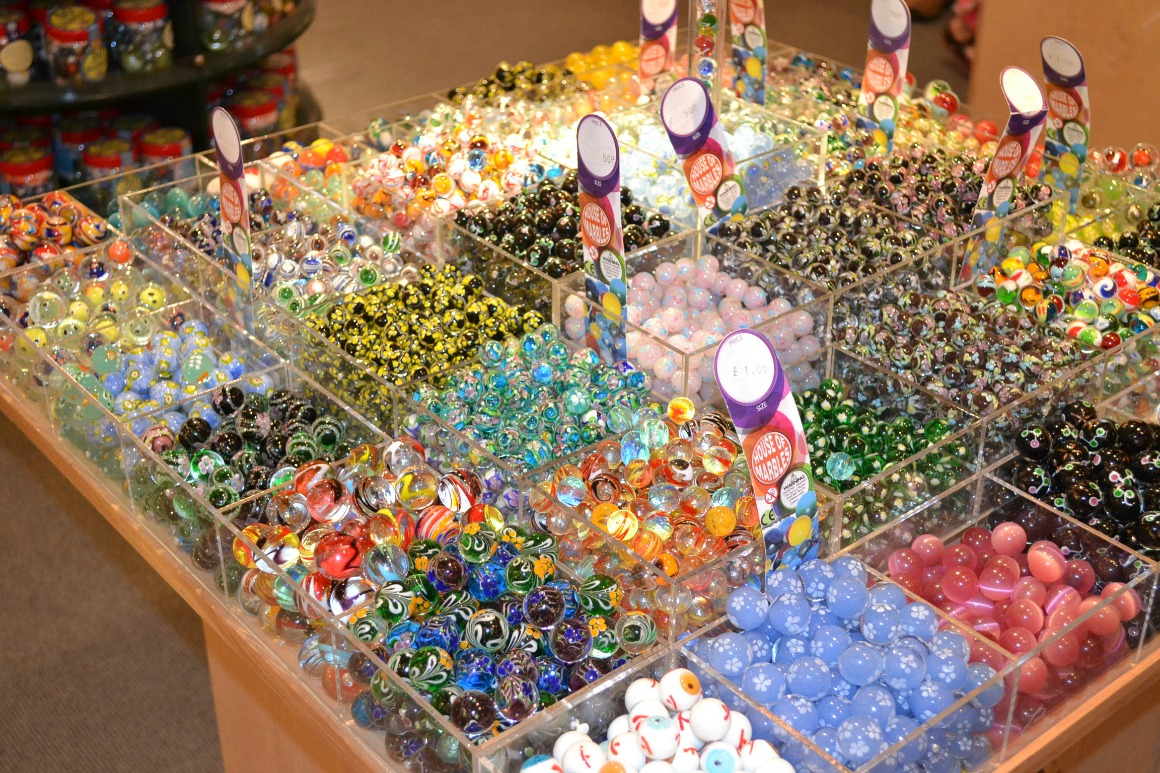 Marbles at the House of Marbles