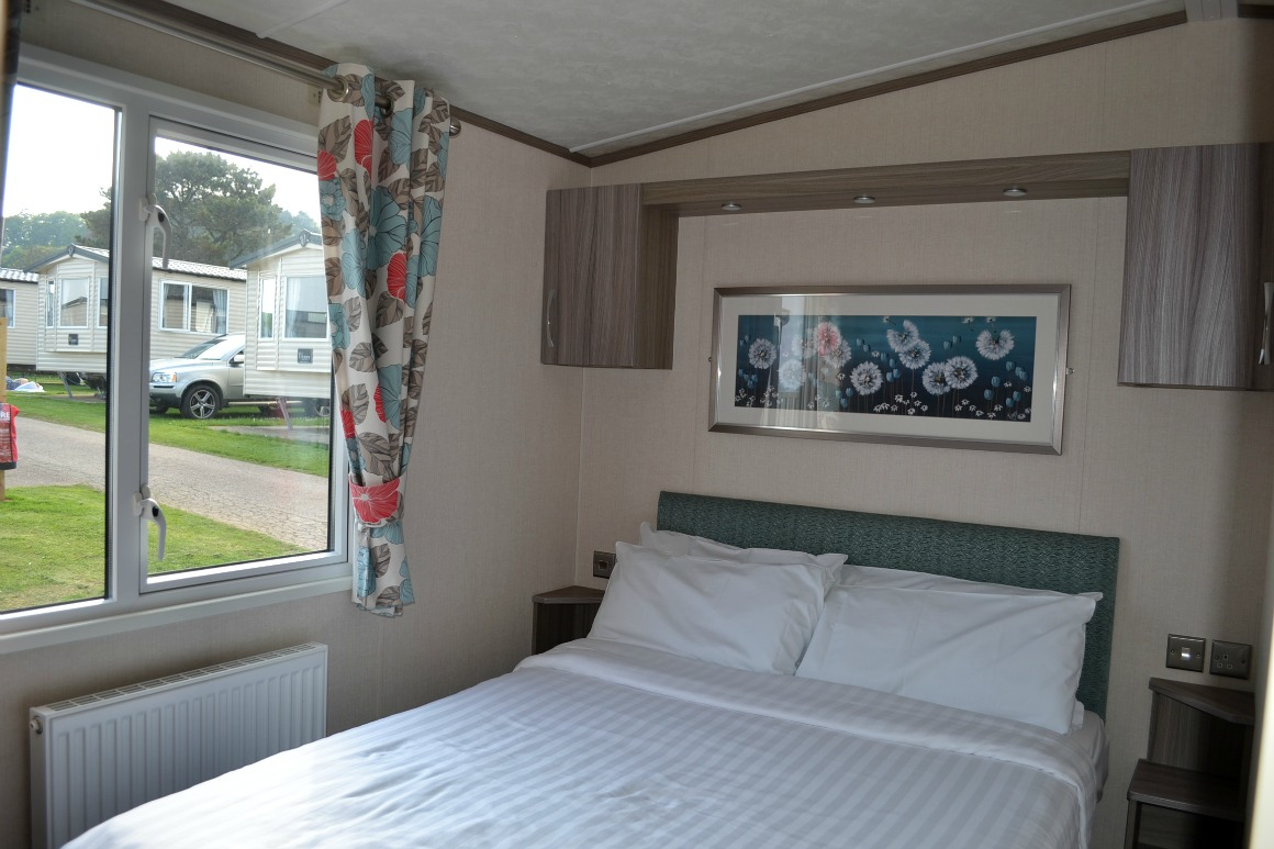 Our caravan at Ladram Bay Holiday Park