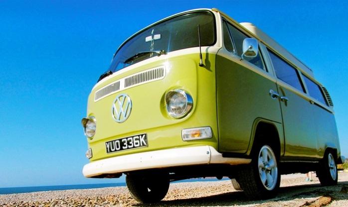 VW Camper Van Hire in Devon
