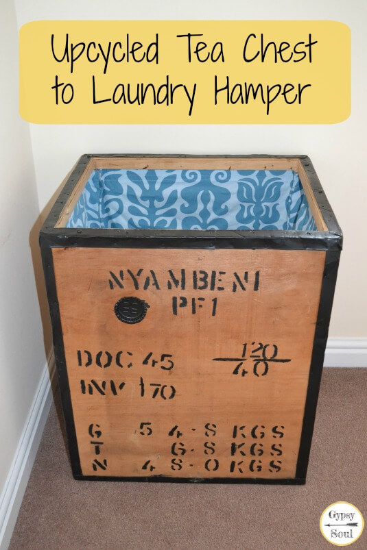 Upcycled Tea Chest