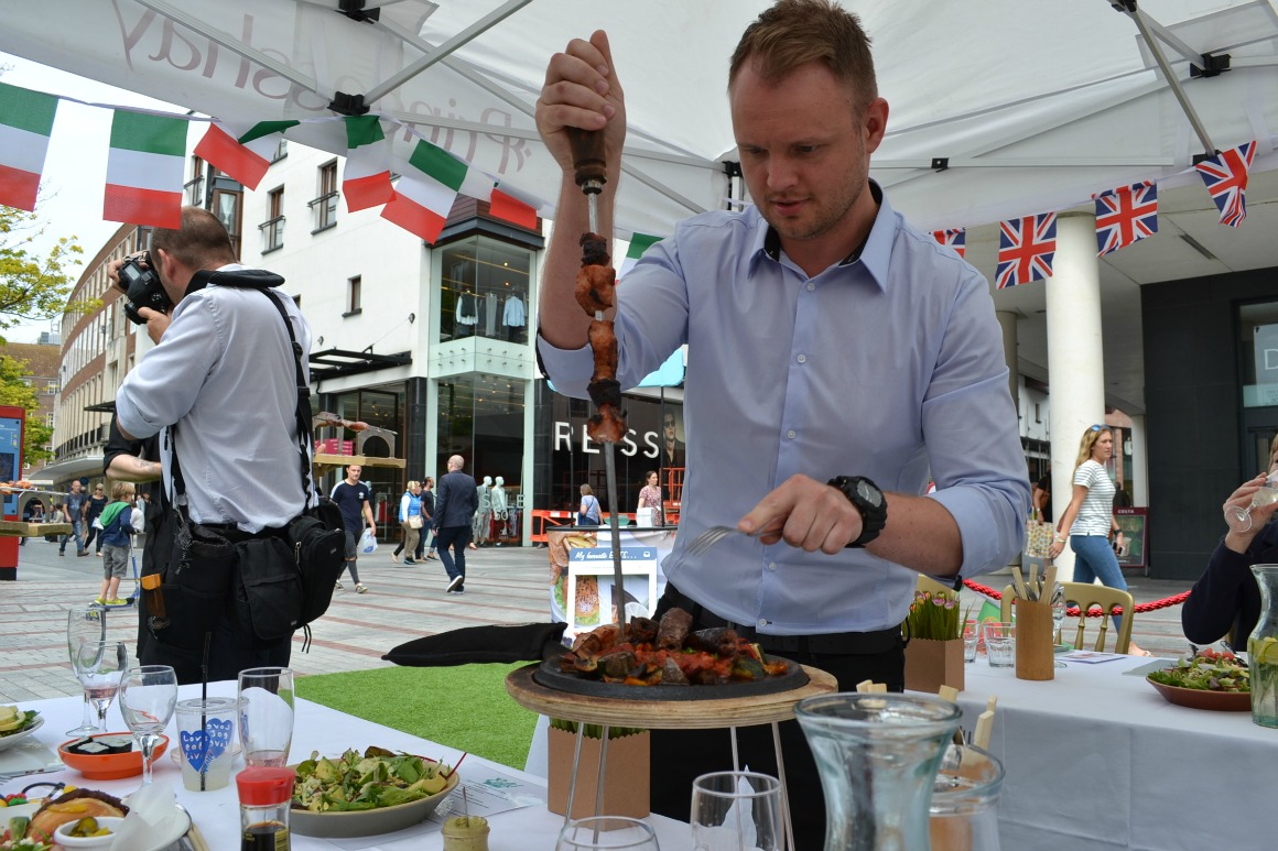 Eats launch party in Princesshay Exeter