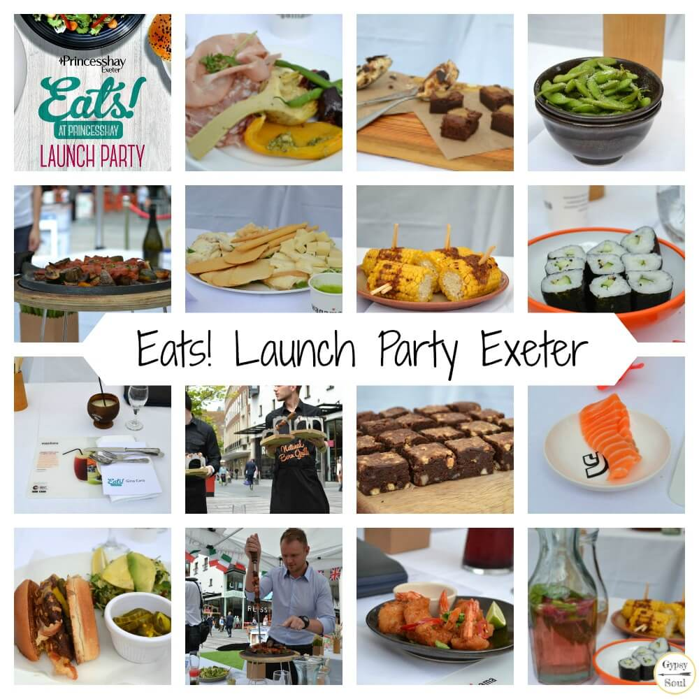 Eats! Launch Party at Princesshay in Exeter