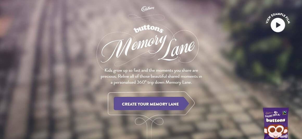 Buttons Memory Lane tool