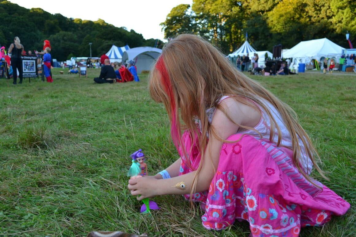 hippy chick at Love Summer Festival