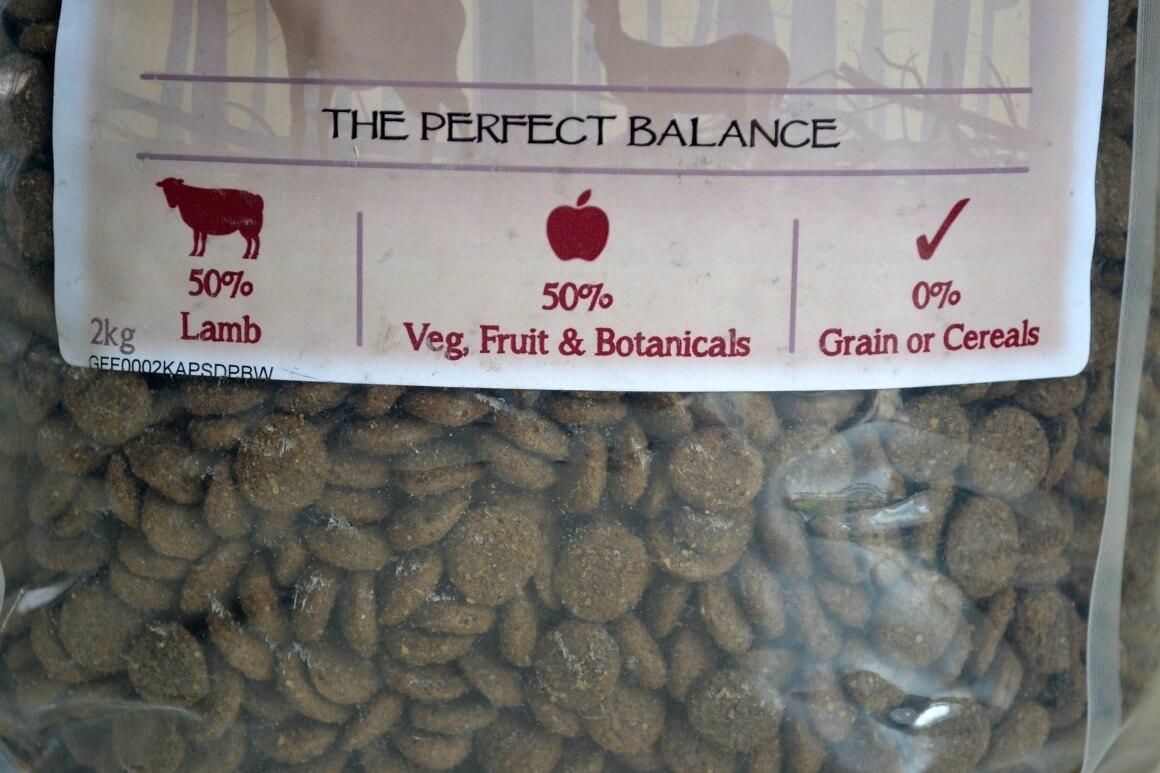 Huntland natural dog food