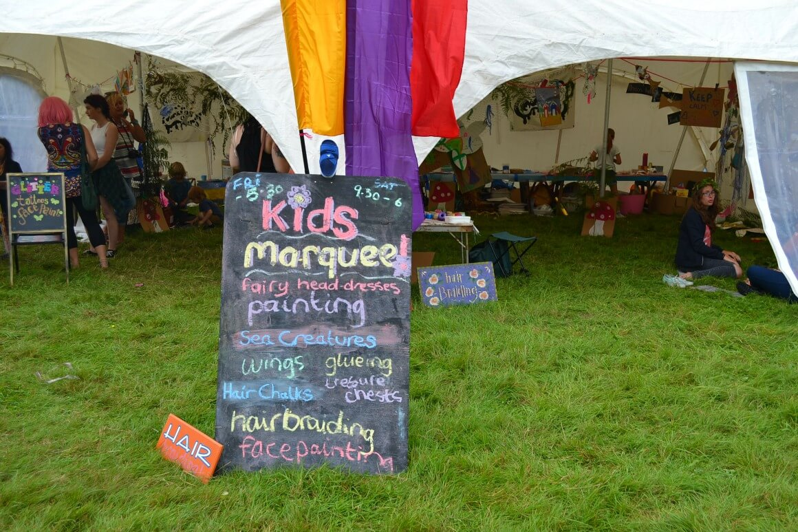 Kids marque love summer festival