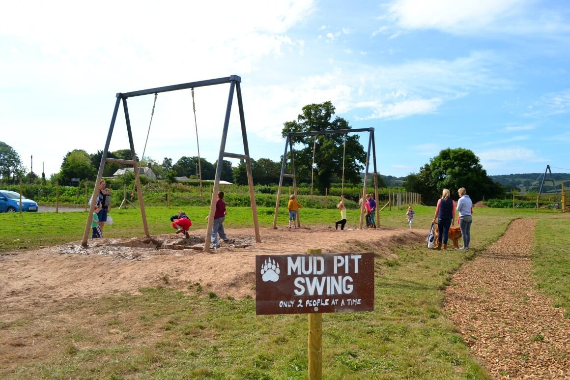 Mud Pit Swing Bear Trail Devon