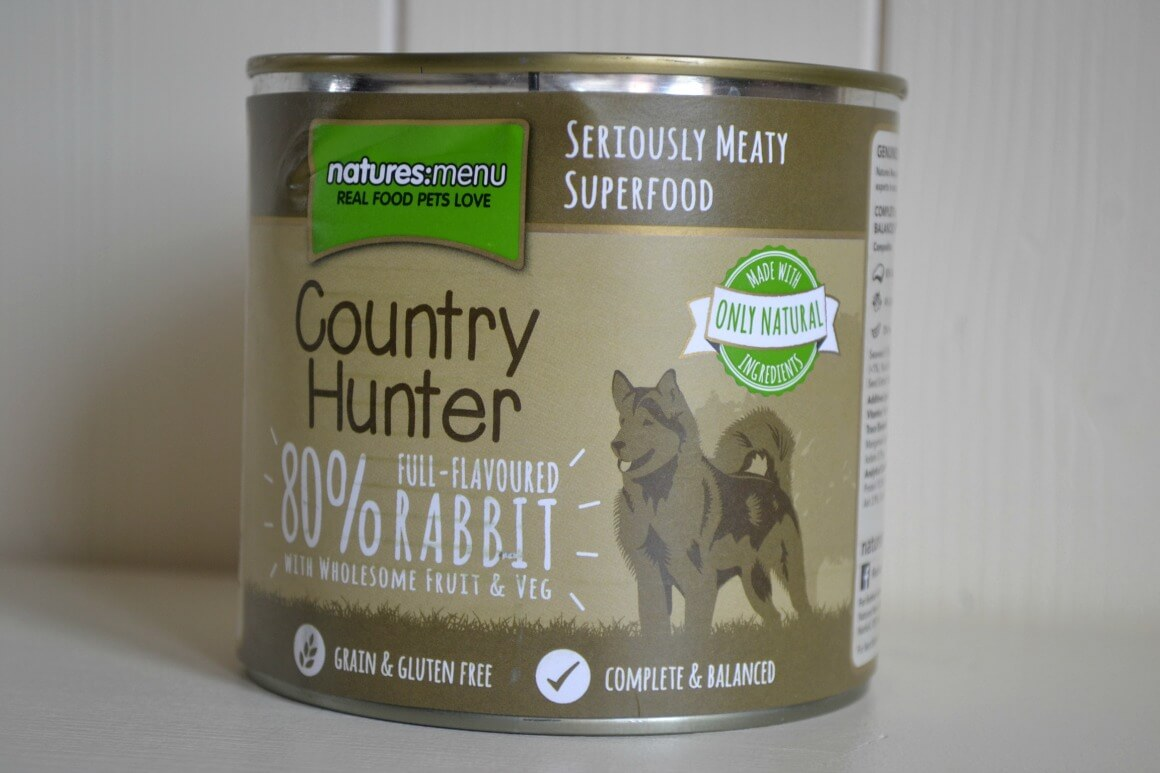 Natures menu natural dog food