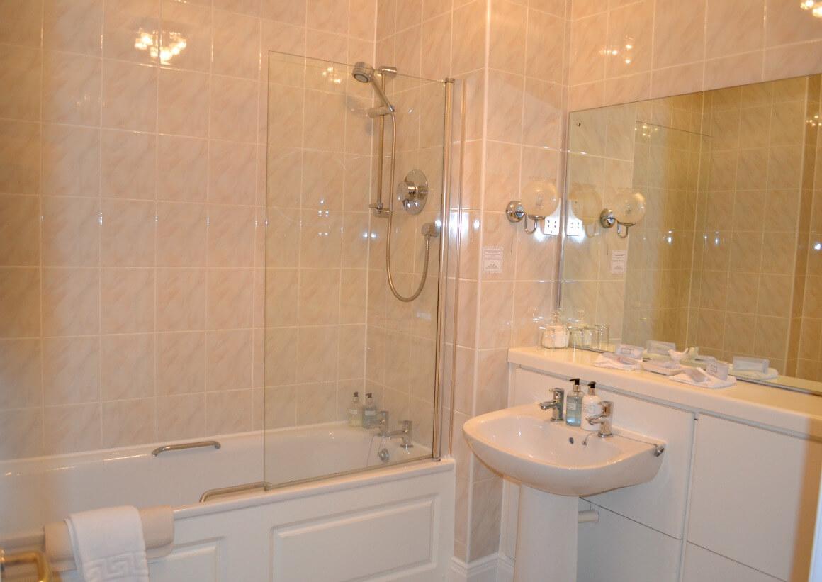 bathroom moorland garden hotel