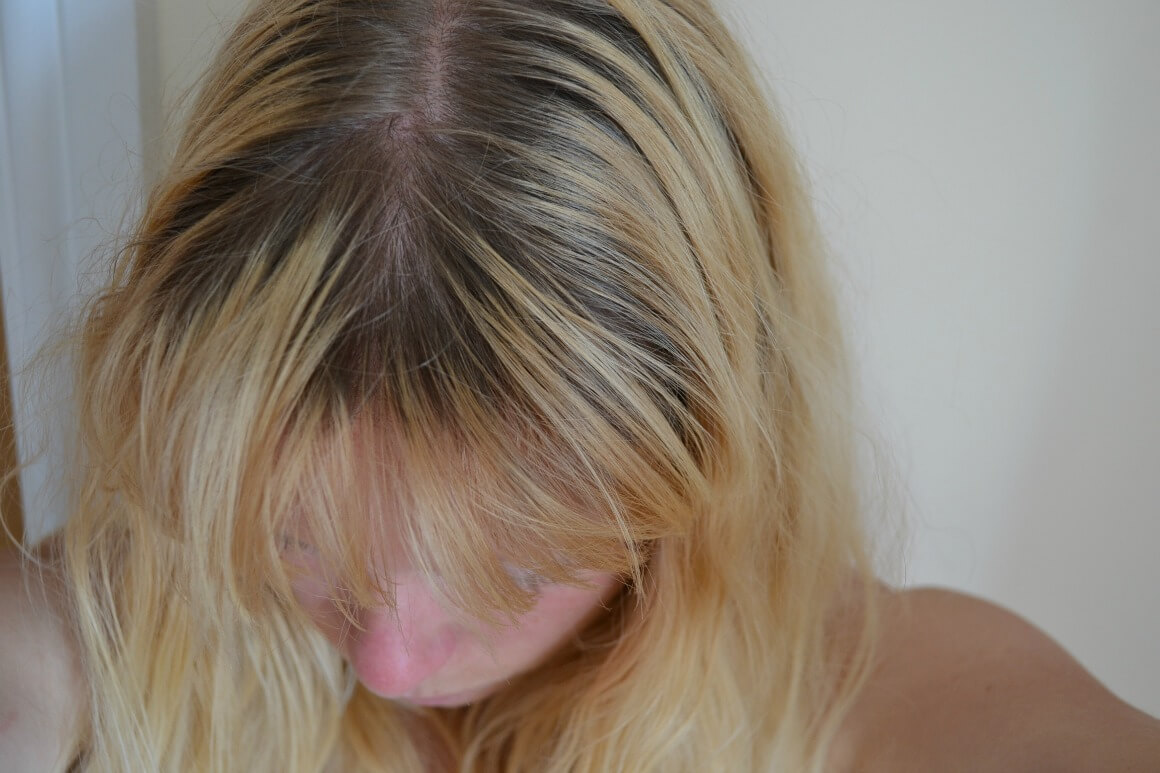My hair before the Tints of Nature natural hair dye