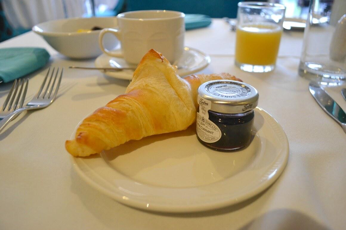 Breakfast at the Moorland Garden Hotel