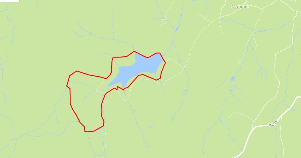 Fernworthy map