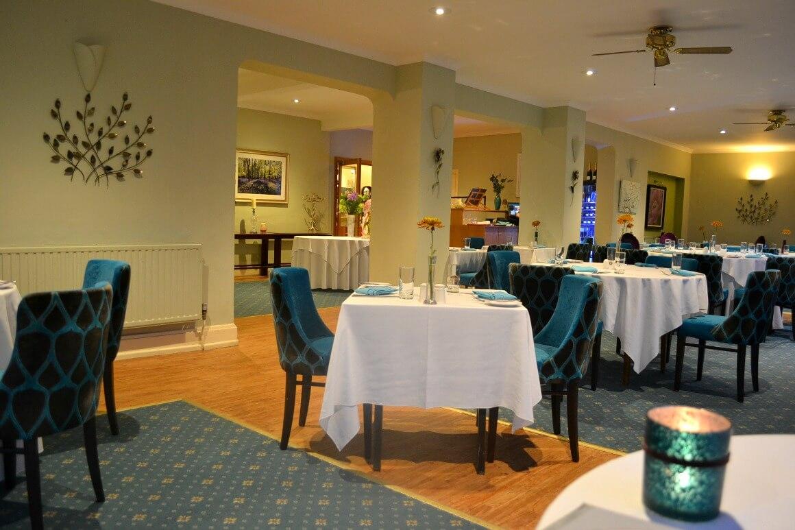 The Moorland Garden Hotel restaurant