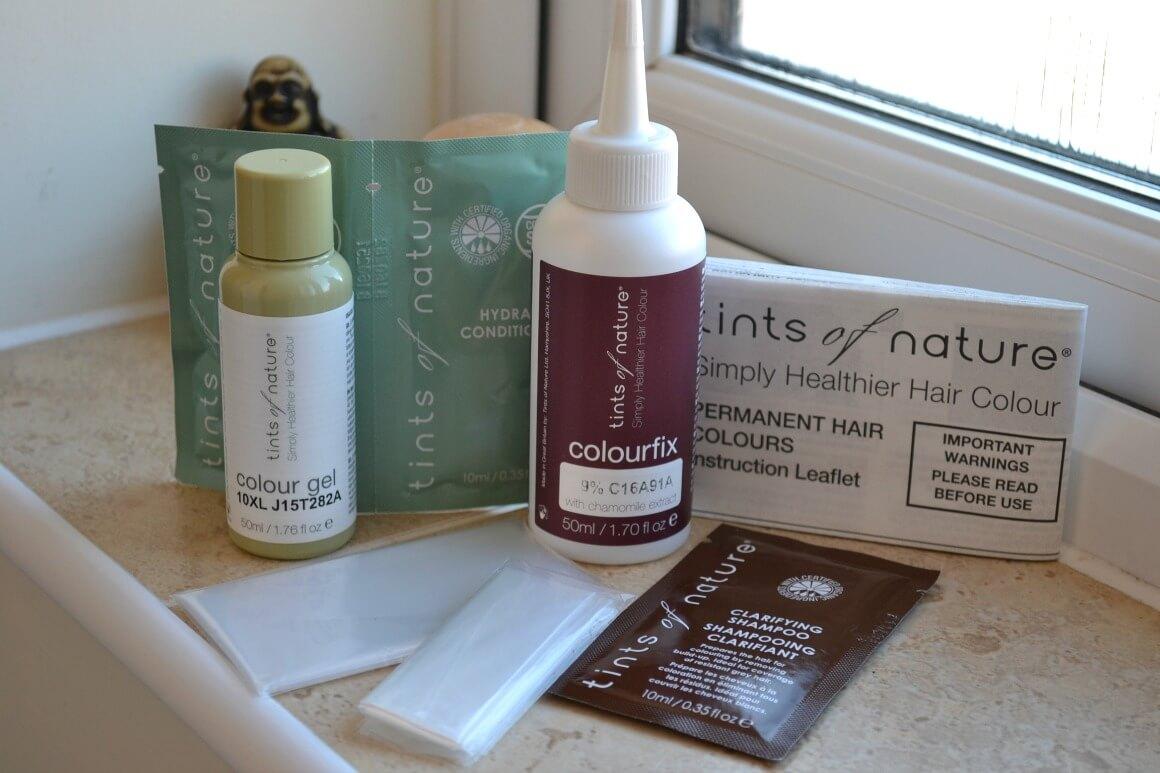 Natural hair dye kit Tints of Nature