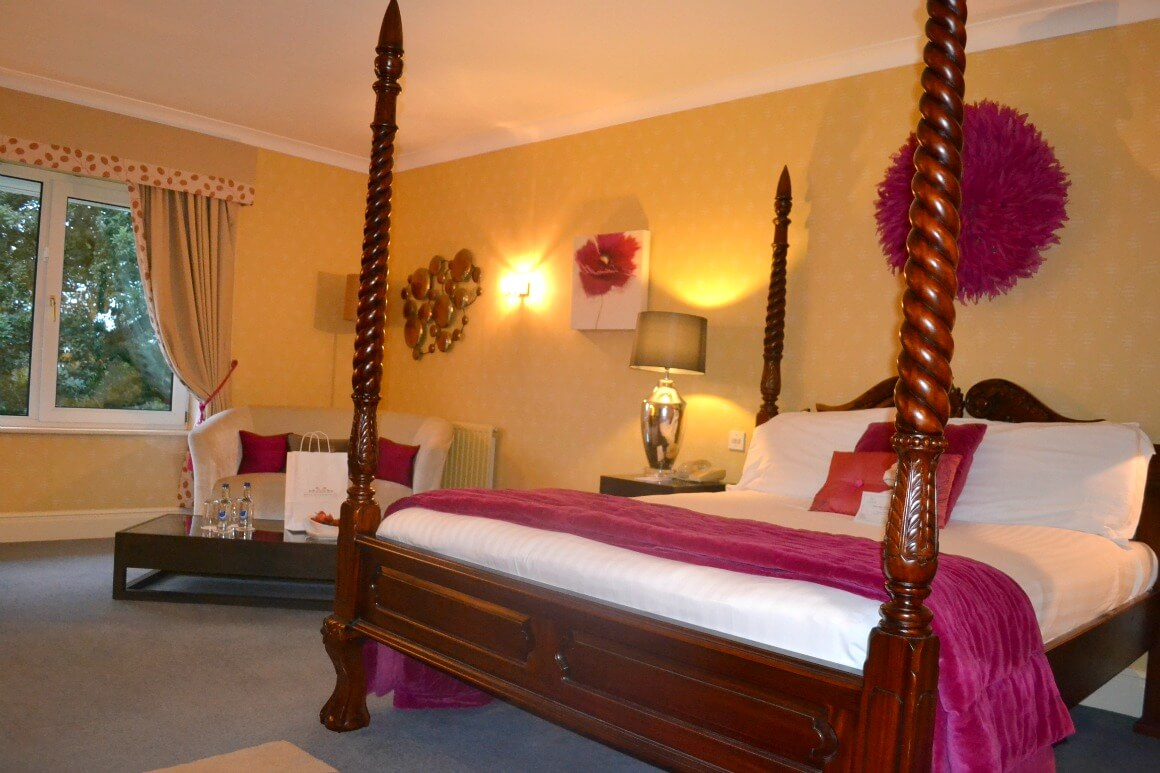Peony suite at the Moorland Garden Hotel