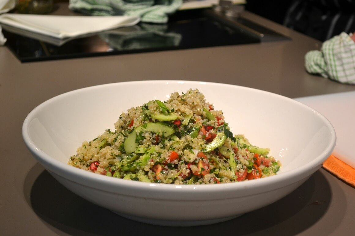 quinoa salad at Absurd Bird