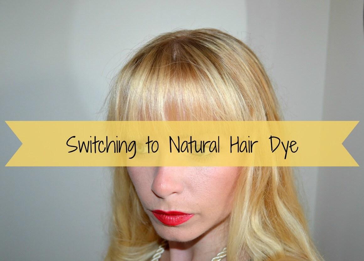 switching to natural hair dye