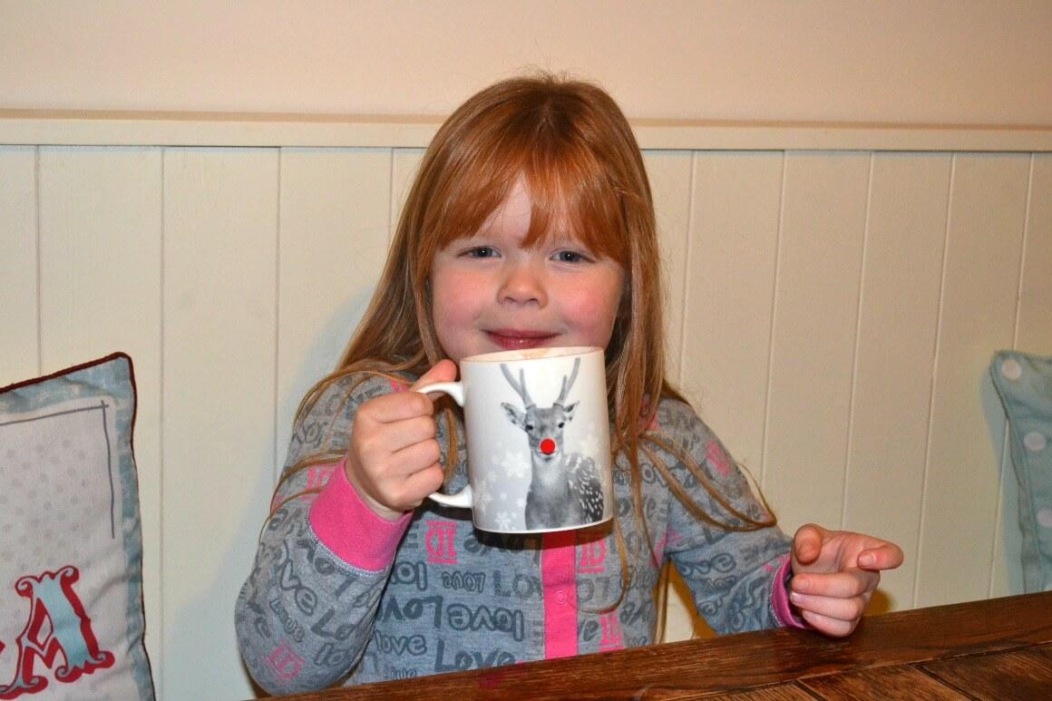 Christmas Eve hot chocolate