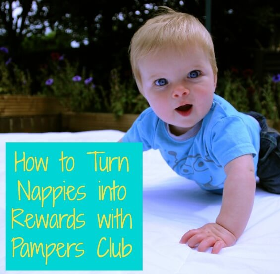 How to Turn Nappies into Rewards with Pampers Club