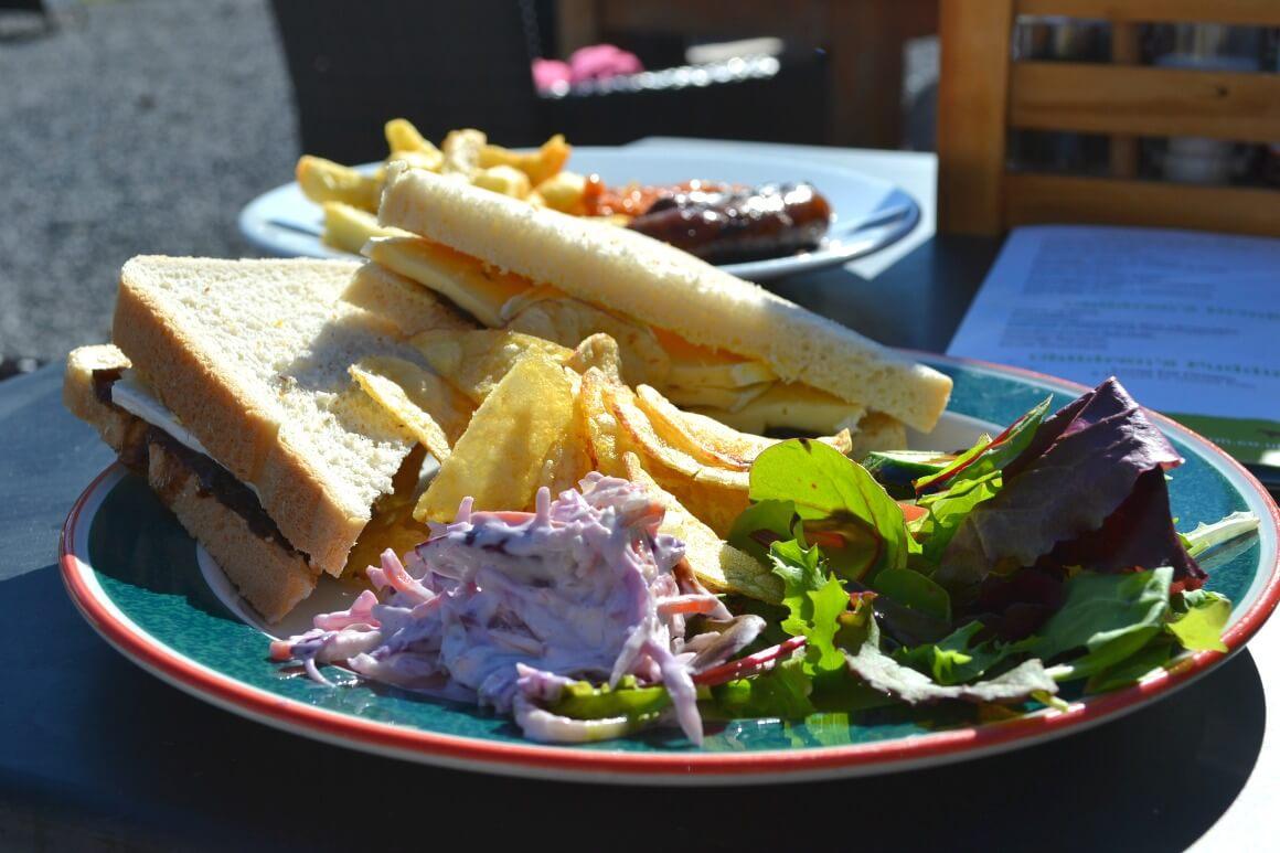 Ullacombe farm food