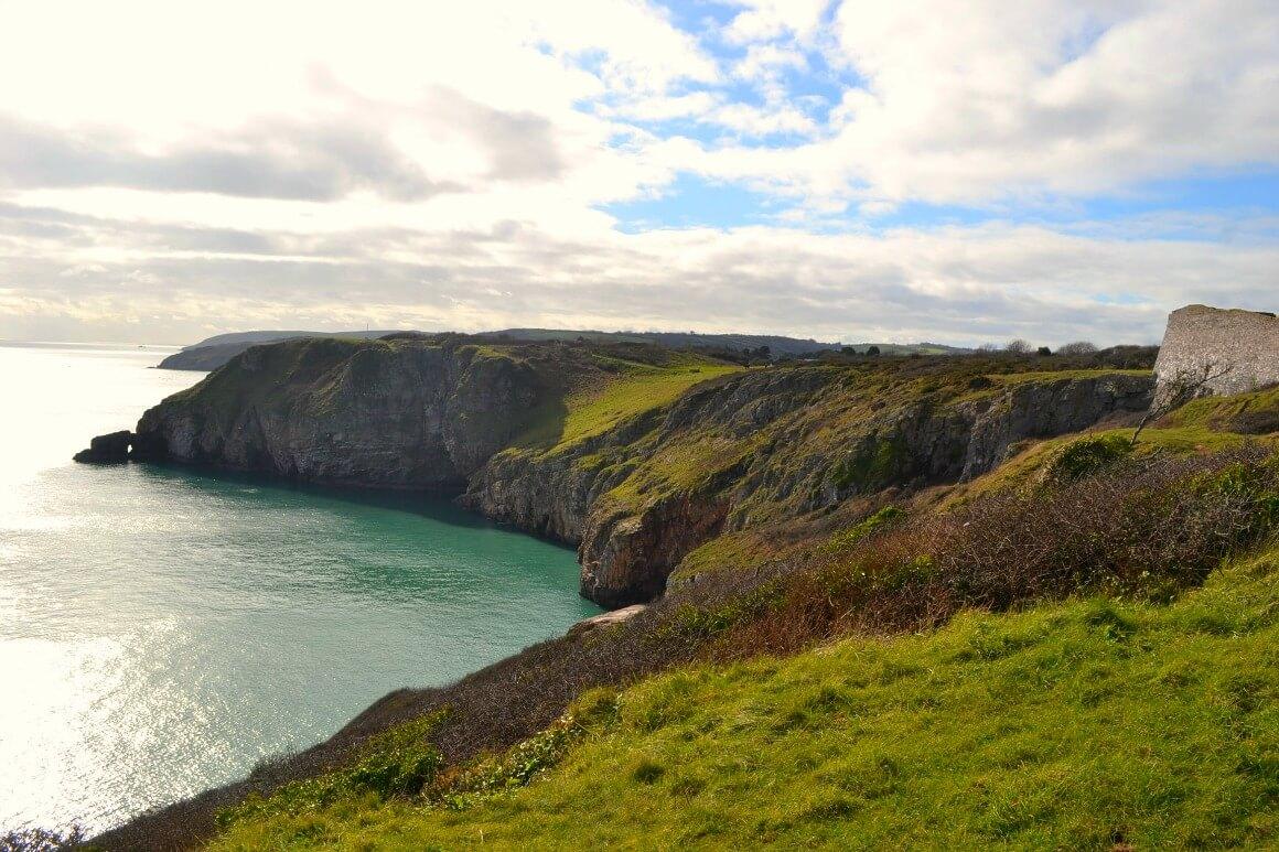 The coast at Berry Head