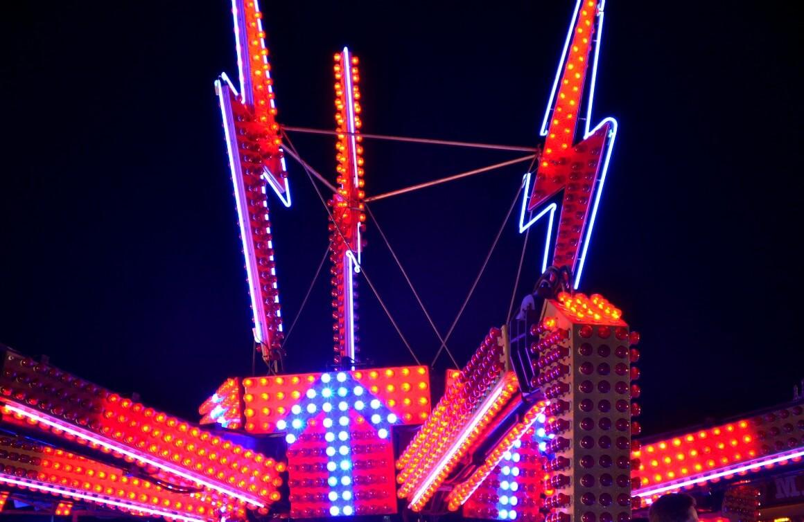 Exmouth fun fair