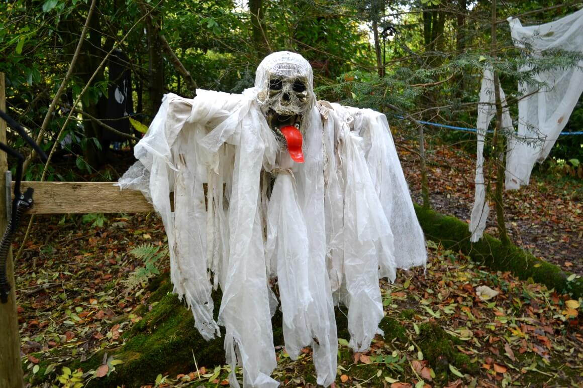 Halloween trail at Lydford Gorge