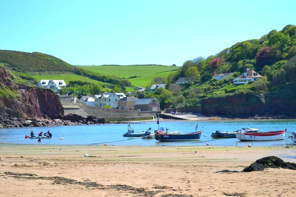 Hope Cove in Devon