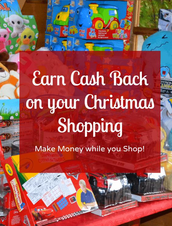Earn cash back on your Christmas shop