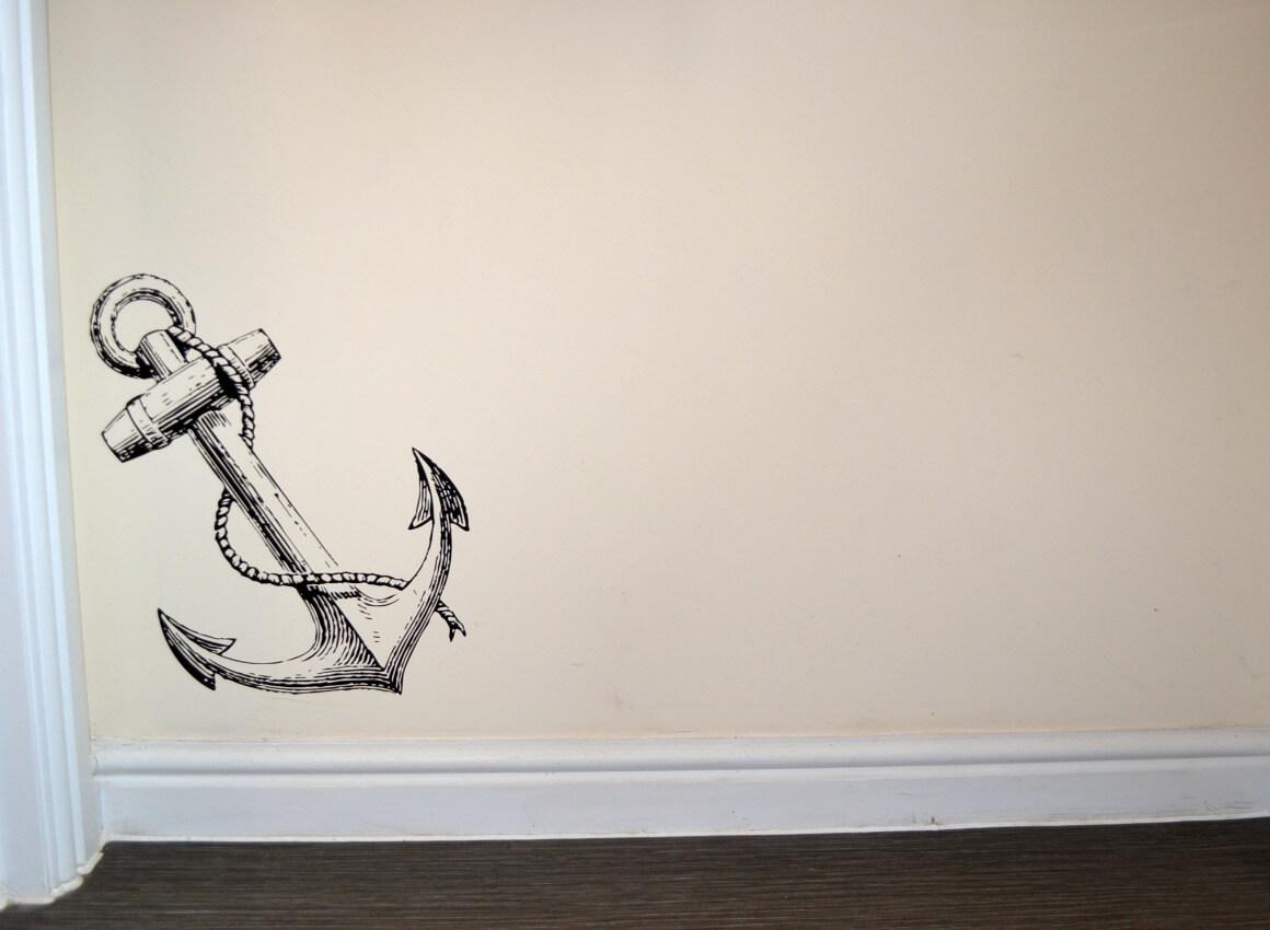anchor wall sticker