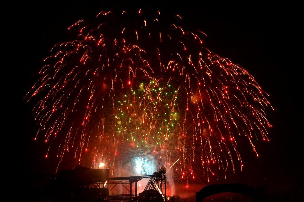 Crealy Fireworks Devon