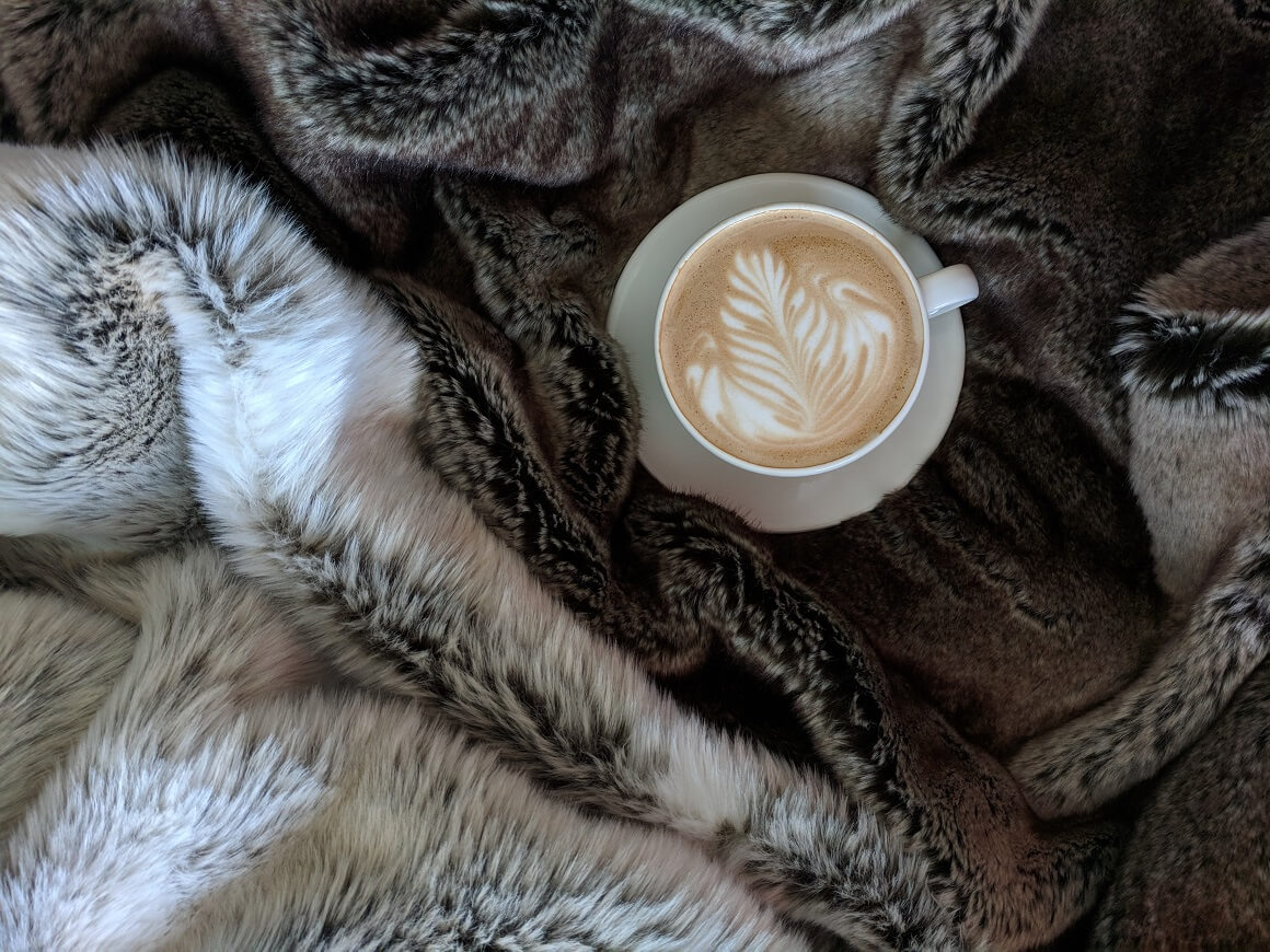 hygge with blankets